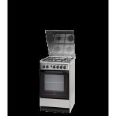 Кухонная газовая плита Indesit I5GG1G(X) U, нержавеющая сталь