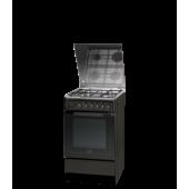 Кухонная плита Indesit I5GMH6AG(A) U, черная
